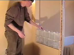 how to install glass blocks