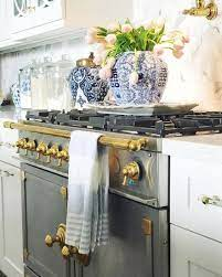 The Chinoiserie Kitchen Chinoiserie Chic Blue Kitchen Decor Home Decor Kitchen Kitchen Remodel