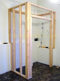 How to frame a closet Build Image Of Framing Basement Walls With 24 Feelingoutloudcomco Diy Framing Basement Walls Urban Design Qualitymetatitle