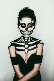 skeleton makeup tutorial the best ideas on pretty skull