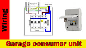 wiring diagram garage supply all wiring diagram gallery shed consumer unit wiring diagram how to wire rcd in garage powermaster garage door wiring