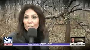 Fox News host searches for Hillary Clinton in the woods