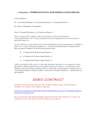 termination letter template employee termination letter human resources letters forms and