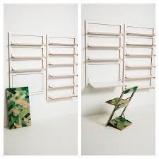 Image of: Modern Folding Shelves
