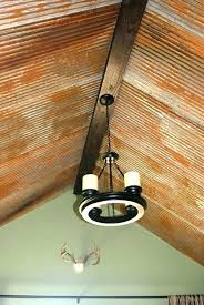 tin ceiling ideas rustic best corrugated on tiles craft
