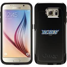 samsung galaxy s6 logo. st louis blues® - word logo design on otterbox® commuter case for samsung galaxy s6 | coveroo a