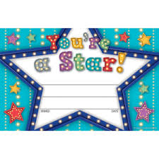 Star Student Certificates Childrens Certificates Star Student Certificates