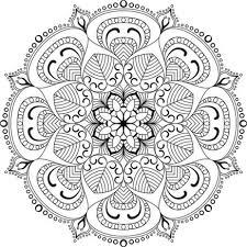 Mandala Tibetani Da Colorare Antistress