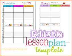 8 Teacher Planner Template Bookletemplate Org