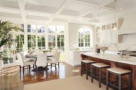 round table dining room contemporary with geoff gibson bay area ar