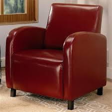 Cox Red Accent Chair