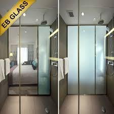 smart glass bathroom