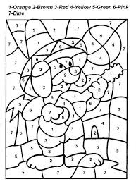Small Picture adult number coloring sheets printable number coloring sheets