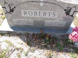 Violet Beasley Roberts (1903-1995) - Find A Grave Memorial