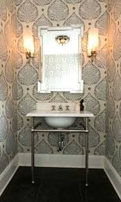 powder room wallpaper small with and wall sconces ways to wallpapers