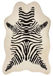 unbelievable u curtains interesting black white faux zebra rug for of and concept styles black and