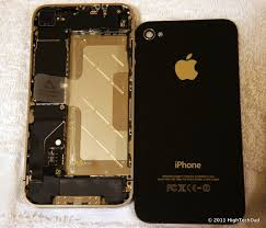 how to open iphone 4