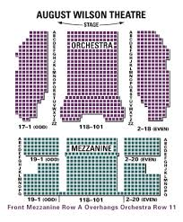 Elektra Theatre Seating Chart Nyc August Wilson Theatre Theatregold Database