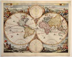 antique map stoopendaal world
