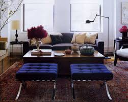 Interior:Appealing Living Room Blending Modern And Traditional Furniture  With Glass Top Table And Beige