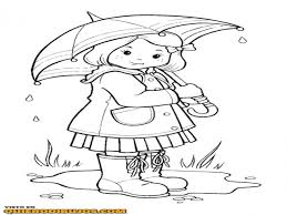 Download Coloring Pages. Rainy Day Coloring Pages: Rainy Day ...