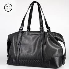 luxury journey men weave pu leather travel bag men tourist large size womens handbags stylish male