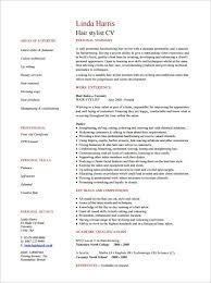 sample cv for hair stylist pdf format hair stylist sample resume