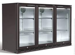 commercial beverage cooler glass door refrigerator freezer combo fridge cool glasses 3 used