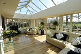 Contemporary Sunroom Furniture Contemporary Extensions Budget Conservatories