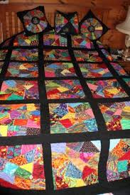 How to Sew an Easy Crazy Quilt Block | Patrones de colchas ... & Crazy Quilt Block Quilt Adamdwight.com