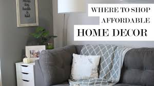 where to for affordable home decor