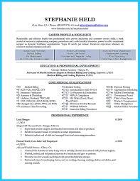 Resume Format For Medical Billing 33 Fresh Medical Billing Resume