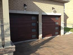 mid century modern garage doors with windows. Modern Garage Doors Fiberglass Double Door With 4 Mid Century Windows O