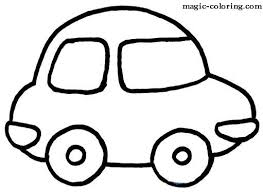 Small Picture Simple Car Coloring Book Coloring Coloring Pages