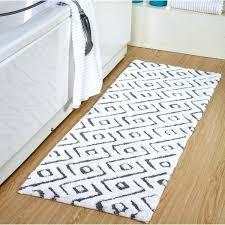 extra long bath rug percent cotton modern extra long bath rug x extra long black bath mat