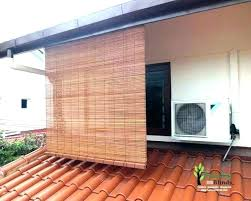 outdoor roll up blinds enchanting porch bamboo inside patio shades custom roller