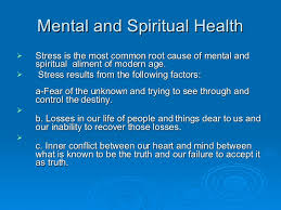 Image result for mental and spiritual health