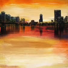 orlando painting orlando city skyline by corporate art task force