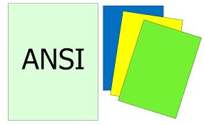 Paper Size Chart 11x17 Ansi Series Paper Sizes Ansi A Ansi B Ansi C Ansi D