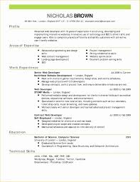 Free Sample Resume Templates Of Free Blank Resume And Cv Template In