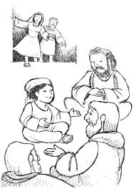 Small Picture Boy Jesus In The Temple Coloring Page AZ Coloring Pages jesus at