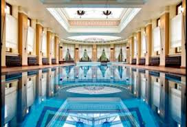 indoor gym pool. Awesome Indoor Swimming Pool And Home Gym Areas