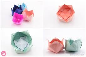 How To Make Origami Paper Flower How To Make Origami Flowers Page 1 Paper Kawaii