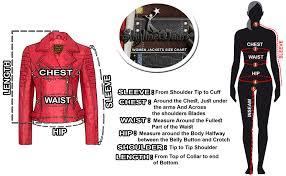 Leather Jacket Size Chart Skylinewears Womens Lambskin Leather Bomber Motorcycle Biker Real Leather Jacket