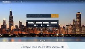 apartment website design. Homestead Group Real Estate Brokerage Web Design Apartment Website
