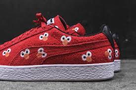 puma shoes suede red. puma x sesame street suede classic - red shoes e