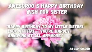 Happy Birthday Beautiful Sister Quotes Best Of 24 [BEST] Happy Birthday Sister Status Quotes Wishes Mar 24