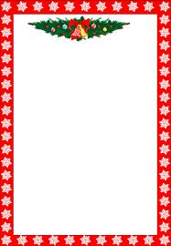 Christmas Writing Paper Template Free Free Printable Christmas Stationary Borders Trials Ireland