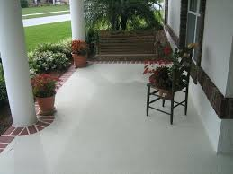 advantages painting concrete porch