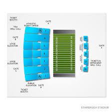 Stambaugh Stadium 2019 Seating Chart
